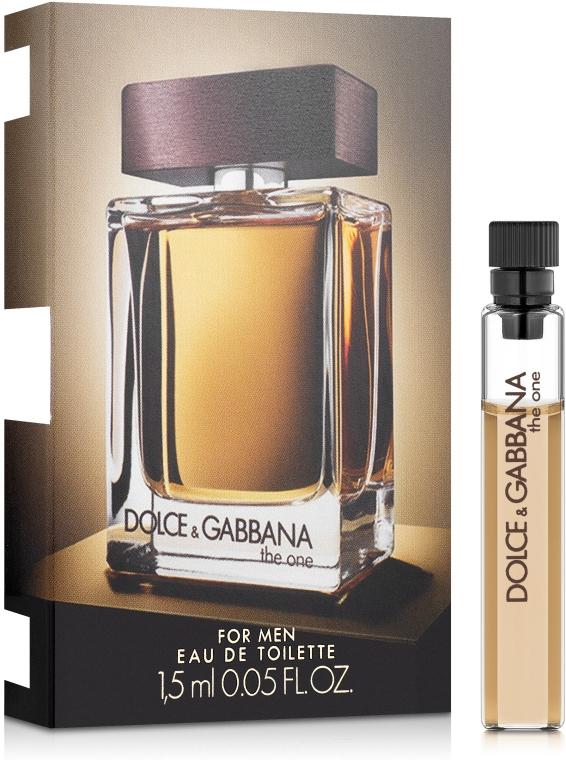 Dolce&Gabbana The One For Men - Туалетная вода (пробник)