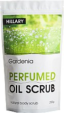 Духи, Парфюмерия, косметика Скраб для тела - Hillary Perfumed Oil Scrub Gardenia