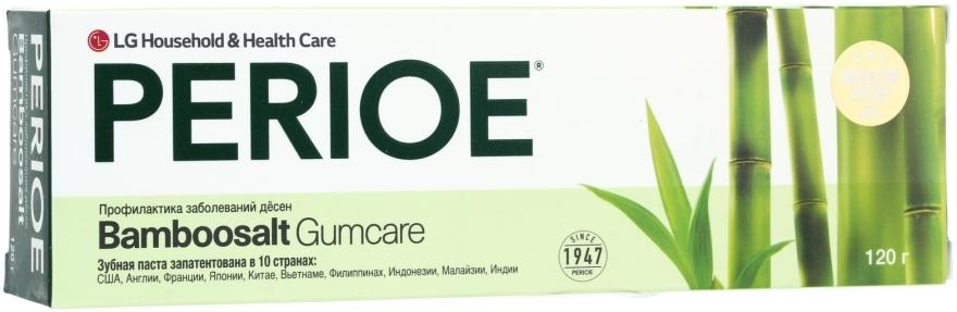 Зубная паста для профилактики заболеваний десен - LG Household & Health Perioe Bamboosalt Gumcare