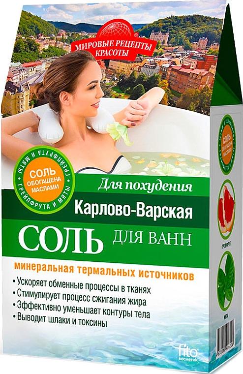 """Соль для похудения """"Карлово-варская"""" - Fito Косметик"""