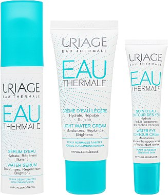 "Набор ""My Water Essentials"" - Uriage Eau Thermale (cr/40 ml+ser/30 ml+eye/cr/15 ml) — фото N2"