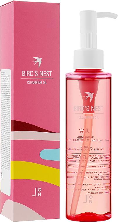 Масло для тщательного очищения кожи лица с экстрактом ласточкиного гнезда - J:ON Bird's Nest Cleansing Oil