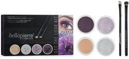 Духи, Парфюмерия, косметика Набор для макияжа глаз - Bellapierre Get the Look Kits Purple Storm