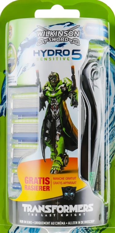 Бритва с 5 сменными кассетами - Wilkinson Sword Hydro 5 Sensitive Transformers
