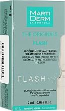 Духи, Парфюмерия, косметика Ампулы для осветления для лица - MartiDerm The Originals Flash Ampoules