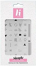 Духи, Парфюмерия, косметика Наклейки для ногтей - Hi Hybrid Simple Nail Stickers