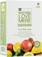 Духи, Парфюмерия, косметика Детское мыло с экстрактом фруктов - Nature Love Mere