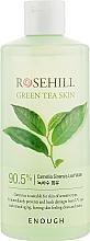 Духи, Парфюмерия, косметика Успокаивающий тонер для лица с зеленым чаем - Enough Rosehill Green Tea Skin 90%