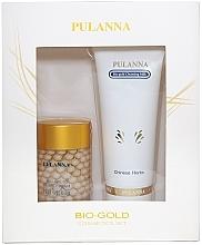 Духи, Парфюмерия, косметика Набор - Pulanna Bio-Gold (milk/90g + cr/60g)
