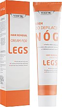 Духи, Парфюмерия, косметика Крем для депиляции ног - Velvetic Hair Removal Cream For Legs