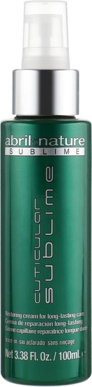 Сыворотка кутикулярная для волос - Abril et Nature Hyaluronic Serum Cuticular Sublime