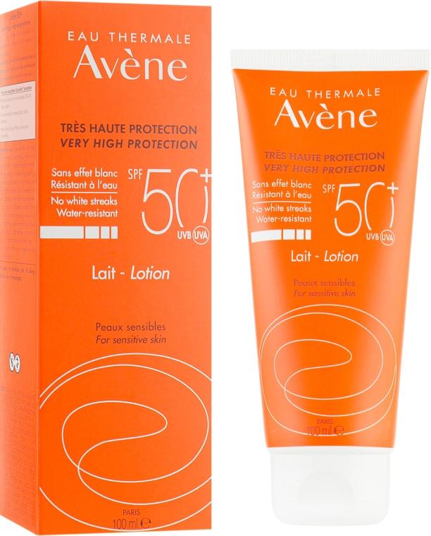 Солнцезащитный лосьон - Avene Eau Thermale Sun Very High Protection Lotion SPF50