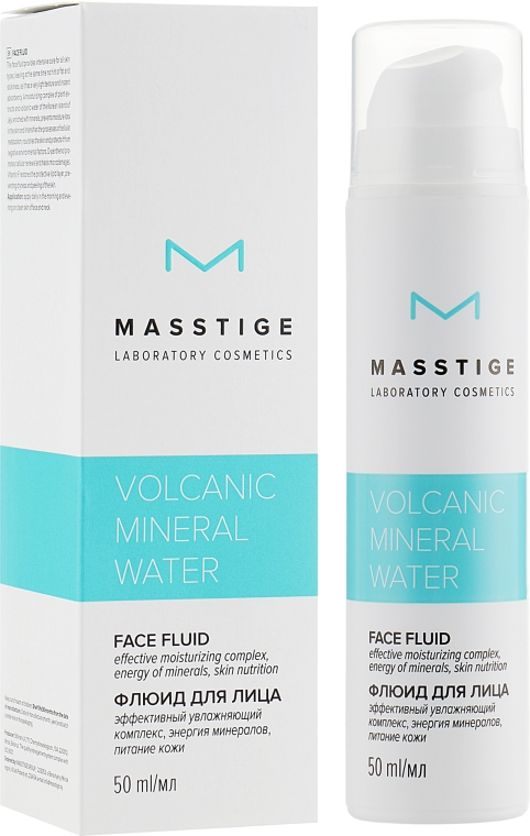 Флюид для лица - Masstige Volcanic Mineral Water Face Fluid