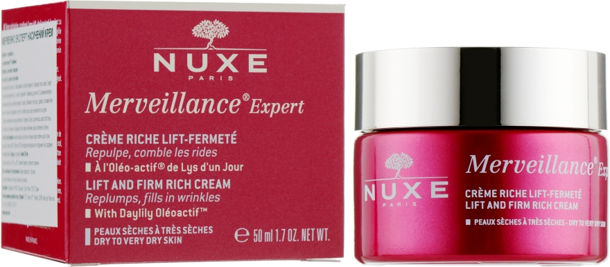 "Крем для лица ""Обогащенный"" - Nuxe Merveillance Expert Firmness-Lift Cream"
