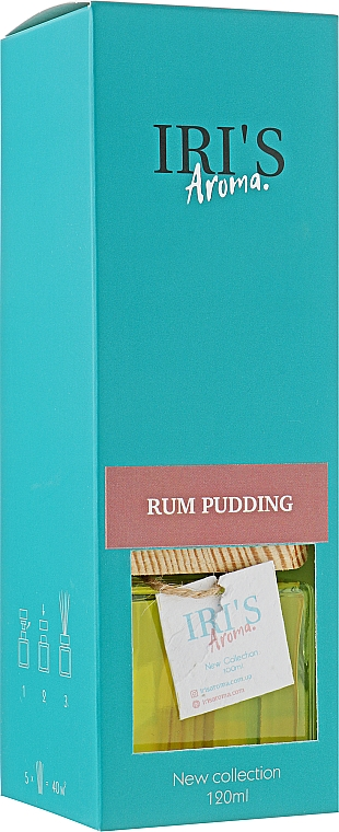 "Аромадиффузор ""Ромовый пудинг"" - Iri's Aroma Rum Pudding"
