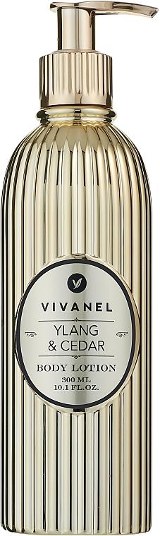 """Vivian Gray Vivanel Ylang & Cedar - Лосьон для тела """"Иланг-иланг и кедр"""""""