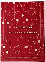 Духи, Парфюмерия, косметика Набор для макияжа - Makeup Revolution Advent Calendar 2019