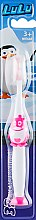 """Духи, Парфюмерия, косметика Детская зубная щетка """"LuLu"""", мягкая, розовая - Modum"""