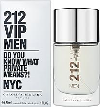 Духи, Парфюмерия, косметика Carolina Herrera 212 VIP Men - Туалетная вода