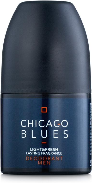 Vittorio Bellucci Chicago Blues - Парфюмированный шариковый дезодорант