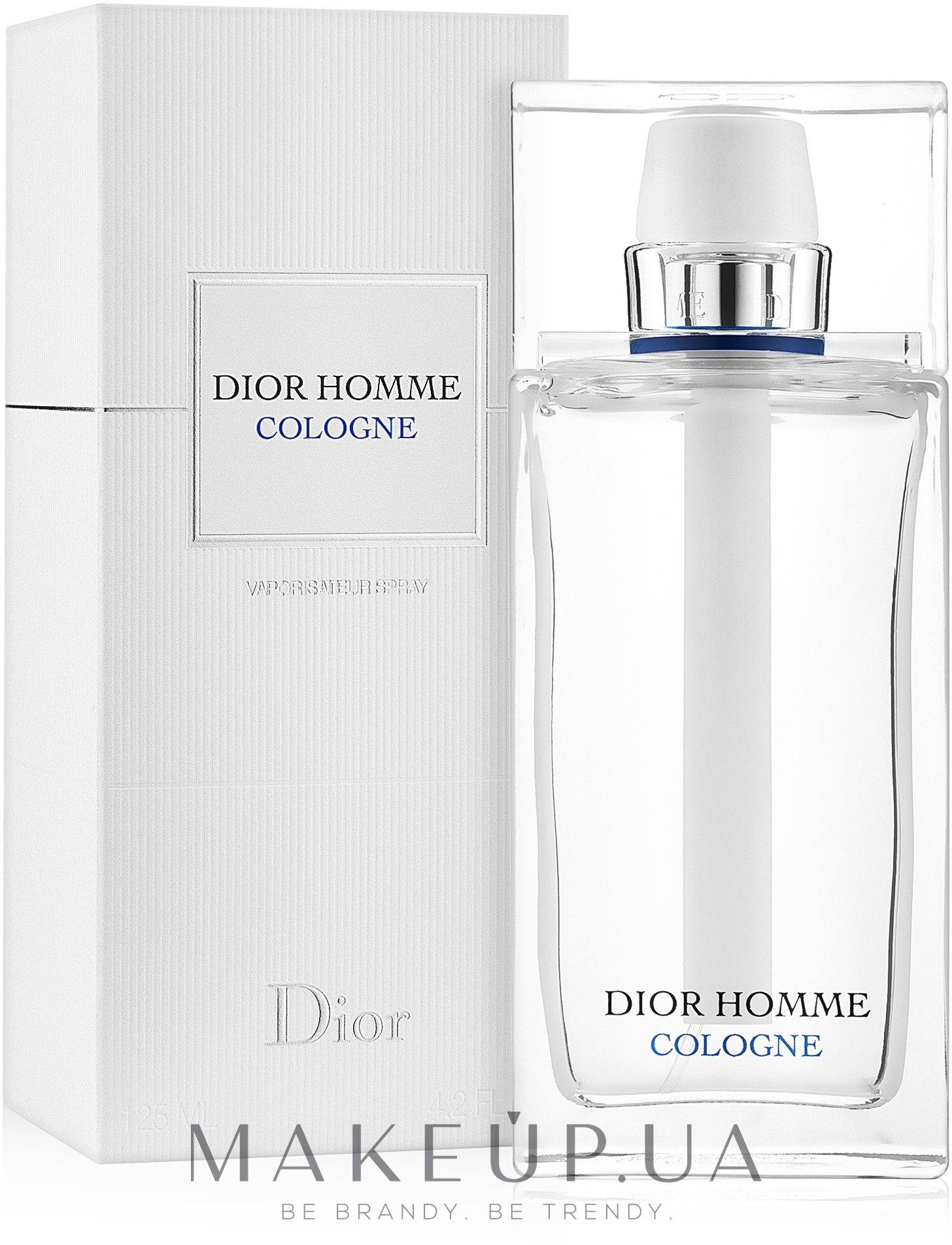 Christian Dior Dior Homme Cologne - Одеколон — фото 125ml