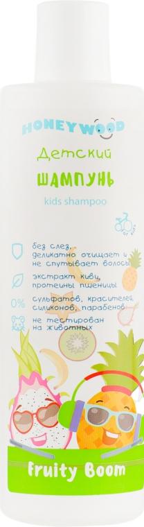 """Детский шампунь Fruity Boom """"Honeywood"""" - Аромат"""