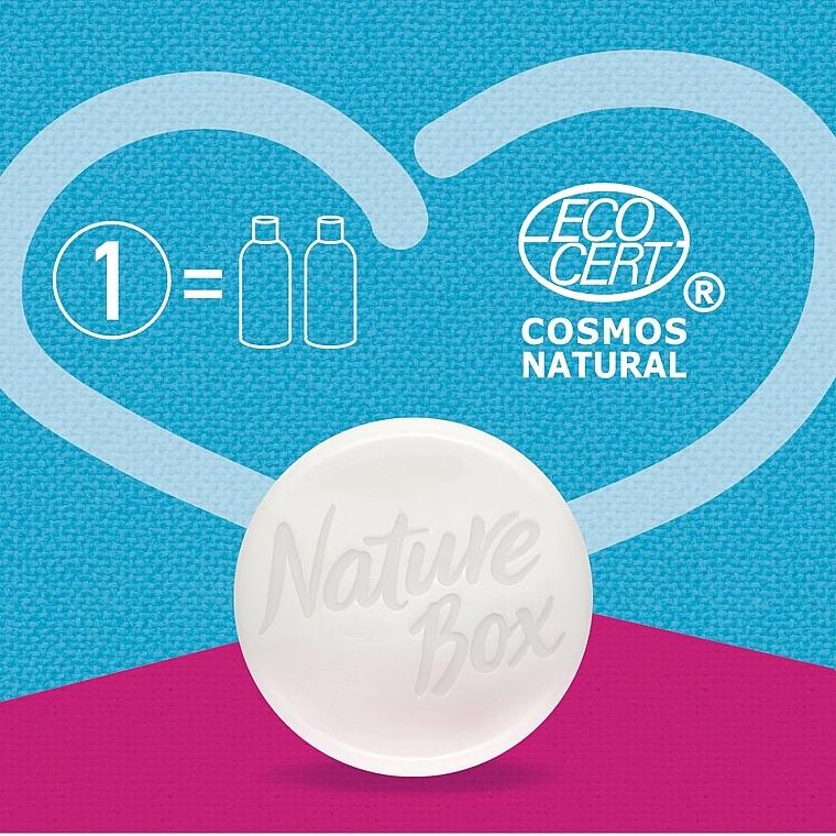 Твердый шампунь для восстановления волос с маслом авокадо холодного отжима - Nature Box Nourishment Vegan Shampoo Bar With Cold Pressed Avocado Oil — фото N7