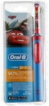 """Духи, Парфюмерия, косметика Детская электрическая зубная щетка с зарядным устройством """"Тачки"""" - Oral-B Braun Stages Power"""
