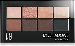 Духи, Парфюмерия, косметика Тени для век - LN Professional Infinity Color Eyeshadows KIt