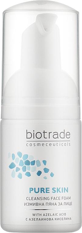Пенка для деликатного умывания c эффектом сужения пор и увлажнения - Biotrade Pure Skin Cleansing Face Foam (мини)