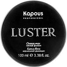 Духи, Парфюмерия, косметика Крем-воск для волос нормальной фиксации - Kapous Professional Cream-Wax Normal Fixation Luster