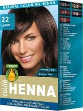 Духи, Парфюмерия, косметика Хна для волос - Aroma Natural Coloring Henna Aroma Color