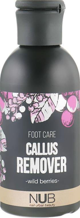 Кислотный пиллинг для педикюра - NUB Foot Care Callus Remover Wild Berries