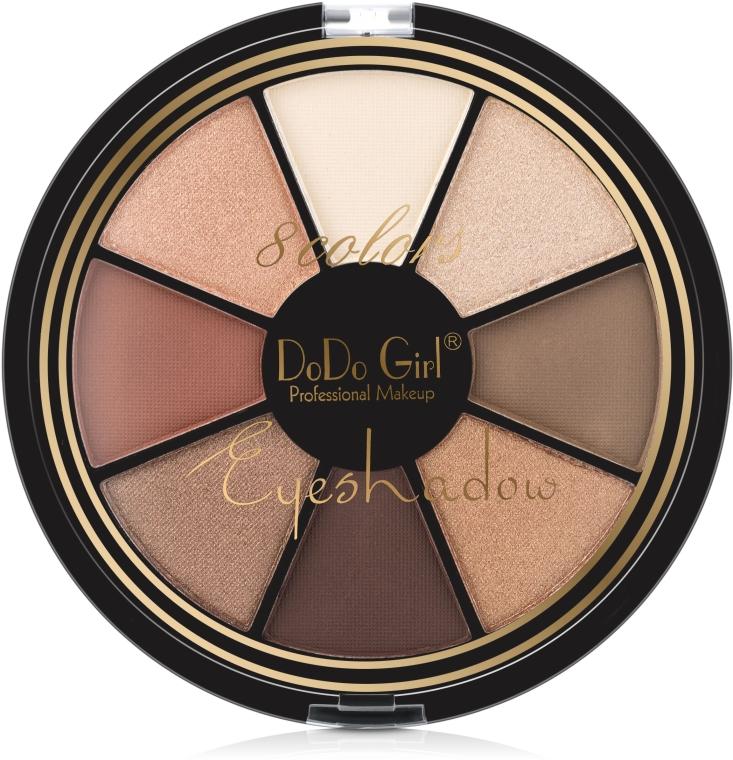Палетка для макияжа глаз - DoDo Girl 8 Colors Eyeshadow