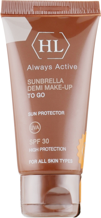 Солнцезащитный крем с тоном - Holy Land Cosmetics Sunbrella SPF 30 Demi Make-Up To Go