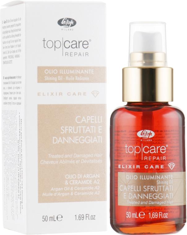 Масло для блеска волос - Lisap Top Care Repair Elixir Care Shining Oil