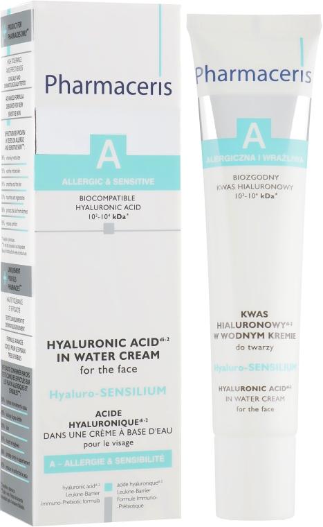 Крем на водной основе с гиалуроновой кислотой - Pharmaceris A Hyaluro-Sensilium