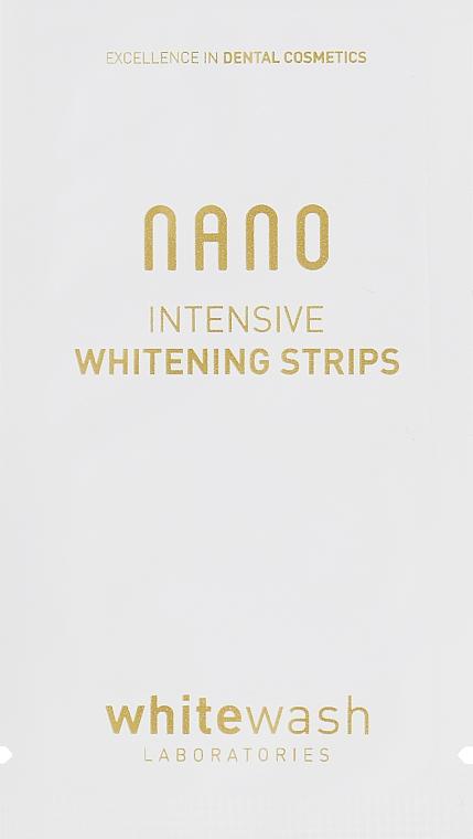 Интенсивно отбеливающие полоски - WhiteWash Laboratories Nano Intensive Whitening Strips