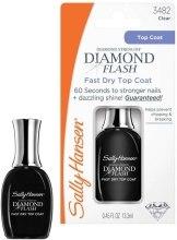 Духи, Парфюмерия, косметика Быстросохнущее верхнее покрытие - Sally Hansen Diamond Flash