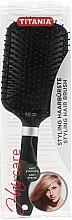 Антистатическая массажная щетка для волос, 25.5 см - TITANIA — фото N3