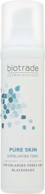 """Отшелушивающий тоник с комбинацией азелаиновой, гликоловой и салициловой кислот """"Пилинг эффект"""" - Biotrade Pure Skin Exfoliating Tonic — фото N3"""