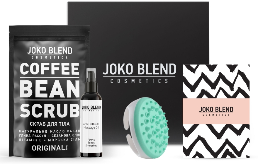 "Набор ""Антицеллюлитный"" - Joko Blend Body Shape (scr/200ml + oil/100ml + accessories)"