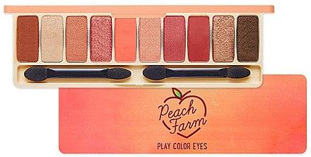 Палетка теней для век - Etude House Play Color Eyes Peach Farm  — фото N1