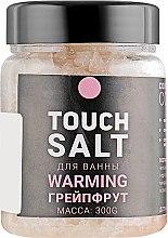 """Духи, Парфюмерия, косметика Соль для ванны с маслами """"Грейпфрут"""" - Touch"""