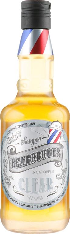 Шампунь очищающий для волос, склонных к жирности - Beardburys Clear Shampoo