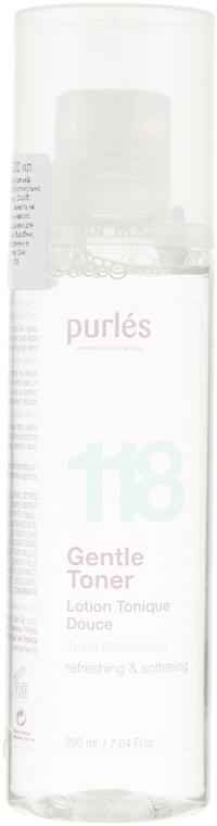 Нежный тоник для лица - Purles 118 Gentle Toner