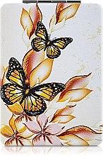 Духи, Парфюмерия, косметика Зеркало косметическое длинное, бабочки - Lily Cosmetics