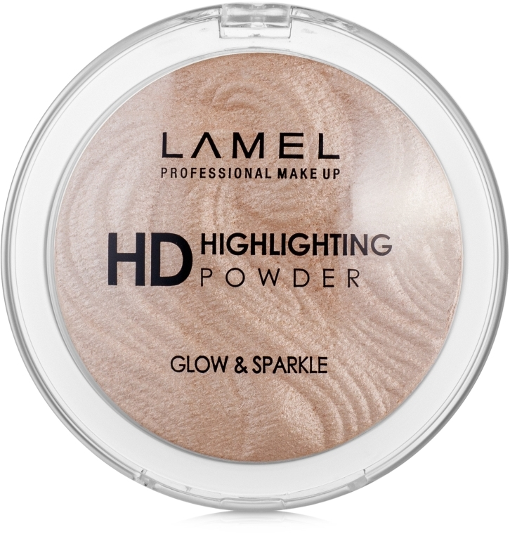 Хайлайтер - Lamel Professional HD Highlighting Glow & Sparkle Powder