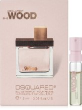 Духи, Парфюмерия, косметика DSQUARED2 SHE WOOD - Парфюмированная вода (пробник)