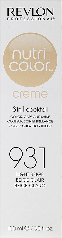 Тонирующий бальзам - Revlon Professional Nutri Color Creme 3 in 1 Color Refresh